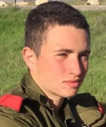 19-year-old Sgt. Ron Yitzhak Kokia from Tel Aviv