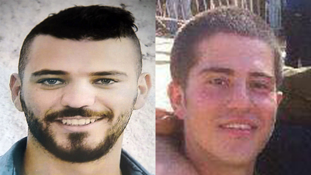 One a Druze, the other Sgt. Shlomo Rindenow from New Jersey